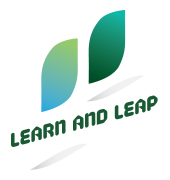 Learn and Leap Logo