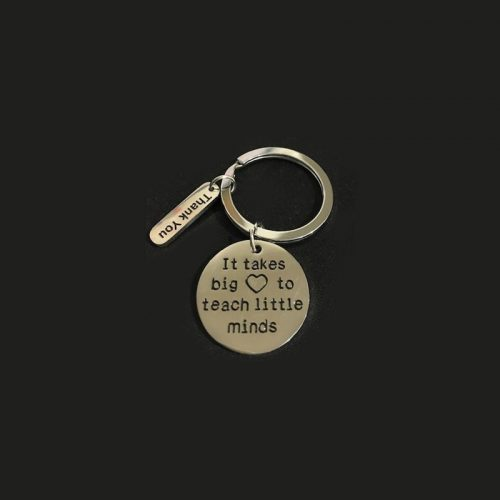 Learn and Leap Teachers Gift - Keyring